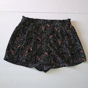 Francesca's | Print Shorts Size Small